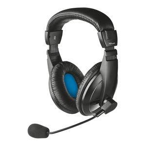 Компьютерная гарнитура Trust Quasar Headset black