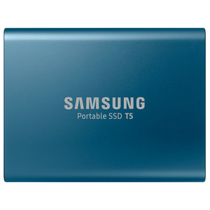 Внешний жесткий диск (SDD) Samsung T5 MU-PA250B 250GB, blue