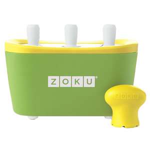 Мороженица Zoku Triple Quick Pop Maker ZK101-GN