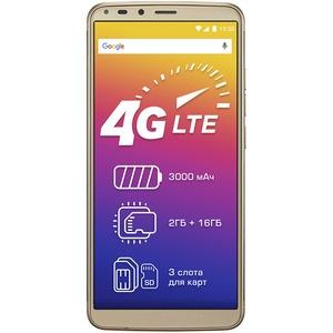 Смартфон Prestigio Grace P7 LTE, Gold (PSP7570DUOGOLD)