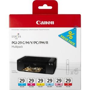 Картридж Canon PGI-29 CMY/PC/PM/R 4873B005