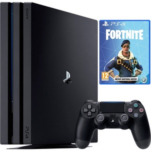 Игровая приставка Sony PlayStation 4 PRO 1000 Gb (CUH-7108B) + Fortnite (Voucher)
