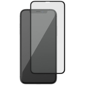 Защитное стекло uBear Flat Nano 2 для Apple iPhone XR, черная рамка