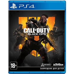 Call of Duty: Black Ops 4 PS4, русская версия
