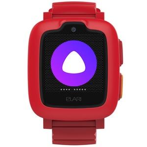 Детские умные часы Elari KidPhone 3G с Алисой, Red