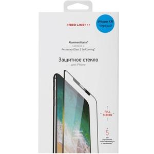 Защитное стекло Red Line Corning Full Screen для Apple iPhone XR, черный