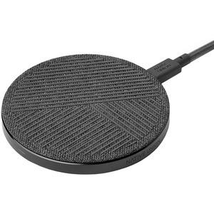 Беспроводное зарядное устройство Native Union Dock Wireless Charger (DOCK-WL-FB-GRY), серый