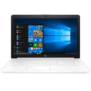 Ноутбук HP 17-ca0002ur Snow White (4JS43EA)