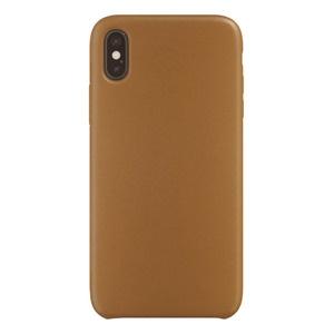 Чехол для смартфона uBear Capital Leather Case для Apple iPhone X/XS, коричневый