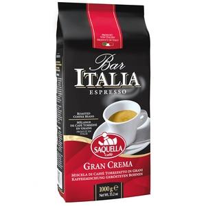 Кофе в зернах Saquella BAR ITALIA Gran Crema