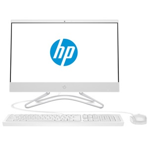 Моноблок HP AiO 22-c0012u Snow White (4GV53EA)