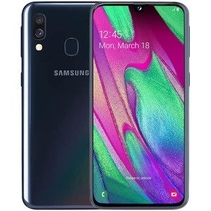 Смартфон Samsung Galaxy A40 (2019) Black