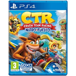 Crash Team Racing Nitro-Fueled PS4, английская версия
