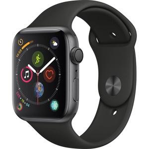 Умные часы Apple Watch Series 4  44 мм серый космос, спортивный ремешок