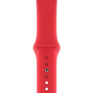 Ремешок для умных часов Apple Watch 44 мм, красный (MU9N2ZM/A)
