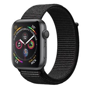 Смарт-часы Apple Watch Series 4 40 мм серый космос, спортивный браслет