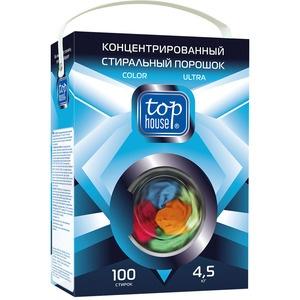 Концентрированный стиральный порошок Tophouse Color Ultra 4.5 кг