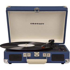Проигрыватель виниловых пластинок Crosley Cruiser Deluxe CR8005D-BL Bluetooth