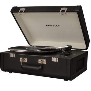 Проигрыватель виниловых пластинок Crosley Portfolio Portable CR6252A-BK