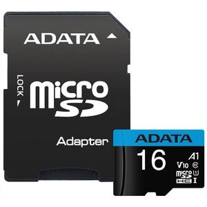 Карта памяти ADATA MicroSD 16GB Class 10 (AUSDH16GUICL10A1-RA1)