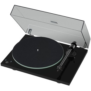 Проигрыватель виниловых пластинок Pro-Ject T1 Phono SB (OM 5E) Piano Black