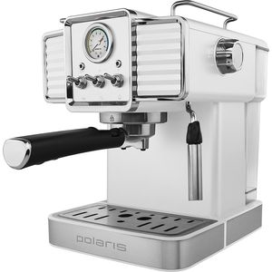 Кофеварка Polaris PCM 1538E Adore Crema белый