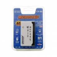 Картридер Microsonic 57-в-1 CR82HC белый-черный (retail)