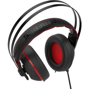 Компьютерная гарнитура ASUS Cerberus V2 красные/черные 90YH015R-B1UA00