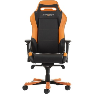Компьютерное кресло DXRacer Iron OH/IS11/NO черный/оранжевый