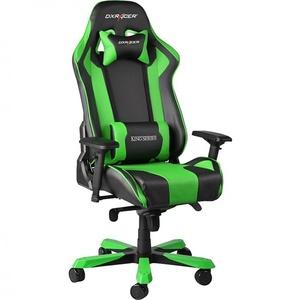 Компьютерное кресло DXRacer King OH/KS06/NE черный/зеленый
