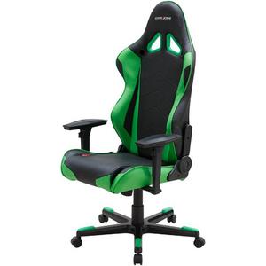 Компьютерное кресло DXRacer Racing OH/RE0/NE черный/зеленый