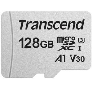 Карта памяти Transcend MicroSD 128GB UHS-I U1 (TS128GUSD300S-A)