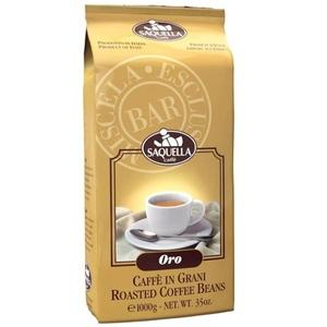 Кофе в зернах Saquella Oro