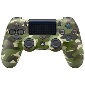 Геймпад Sony Dualshock 4, v2 (CUH-ZCT2E) green camouflage