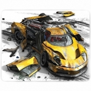 Коврик для мыши PC PET MP-GM02 Gamer (Yellow car)