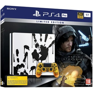Игровая приставка Sony PlayStation 4 Pro 1 TB Limited Edition + Death Stranding (CUH-7208B)