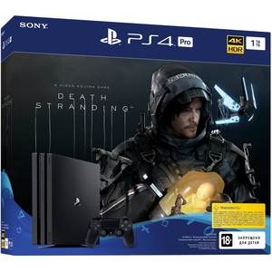 Игровая приставка Sony PlayStation 4 Pro 1 TB + Death Stranding (CUH-7208B)