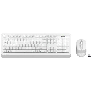 Комплект клавиатуры и мыши A4Tech FG1010 White