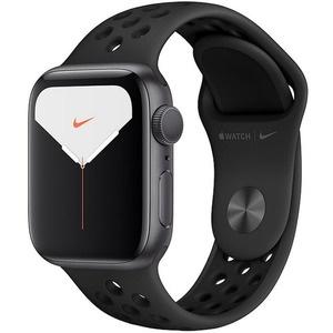 Умные часы Apple Watch Nike Series 5 44 мм серый космос, спортивный ремешок