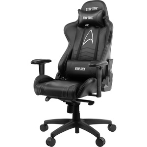 Компьютерное кресло Arozzi Gaming Chair Star Trek Edition Black