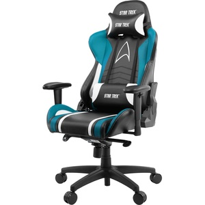 Компьютерное кресло Arozzi Gaming Chair Star Trek Edition Blue