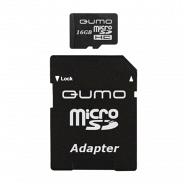 Карта памяти Qumo MicroSD 16GB Class 6 High-Capacity