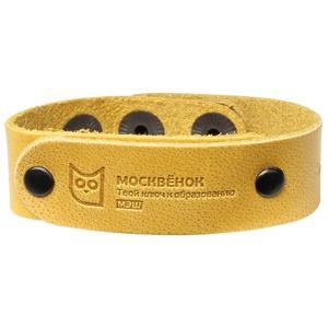 Браслет Москвенок WOCHI P со встроенным чипом (размер S), желтый