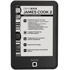 Электронная книга Onyx James Cook 2 Black