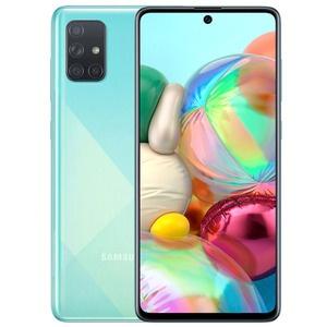 Смартфон Samsung Galaxy A71 синий