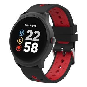 Смарт-часы Canyon Oregano (CNS-SW81BR) черный/красный