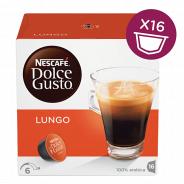 Капсулы для кофемашин Nescafe Lungo (16шт)