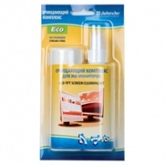 Чистящее средство  Defender Набор для ЖК-мониторов ЭКО (спрей 100мл+15 салфеток)