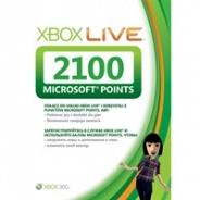 Аксессуар для приставки Microsoft Xbox LIVE 2100 MS points 56P-00223