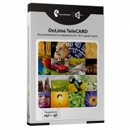 Комплект цифрового телевидения OnLime TeleCARD